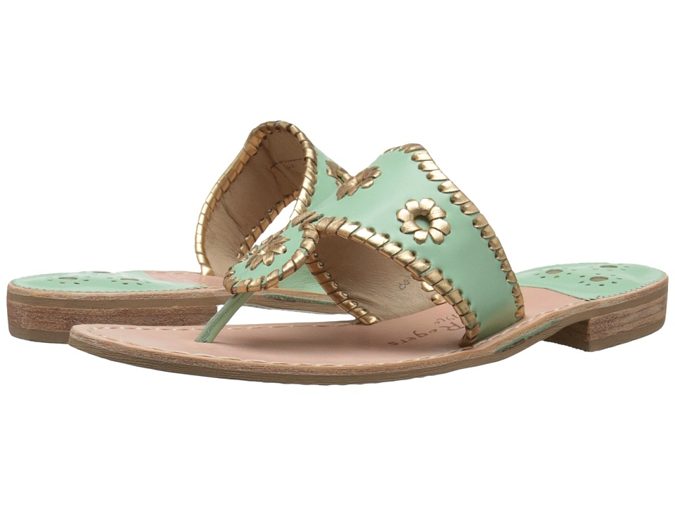 Jack Rogers - Nantucket Gold (Mint/Gold) Women's Sandals