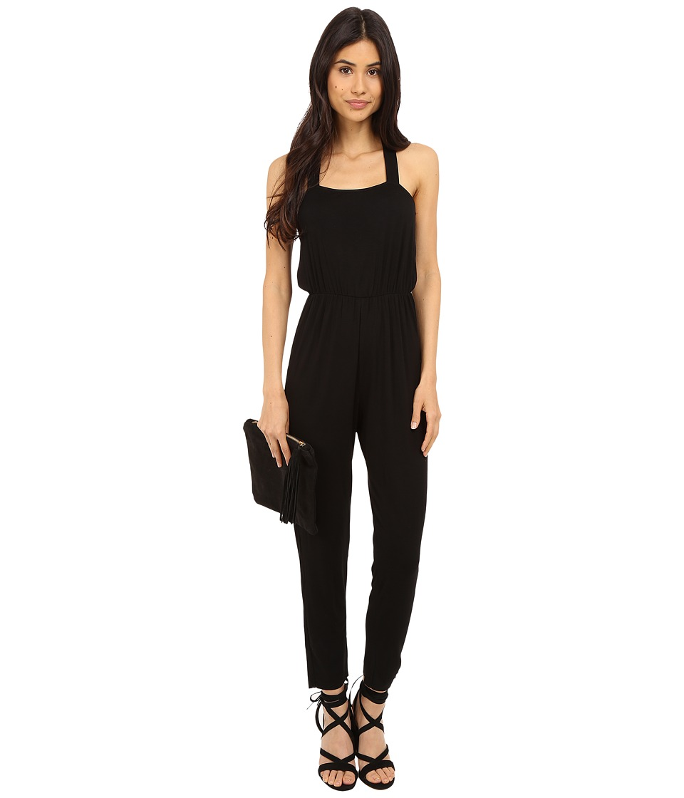 Clayton - Ava Jumpsuit (Black) Women's Jumpsuit & Rompers One Piece