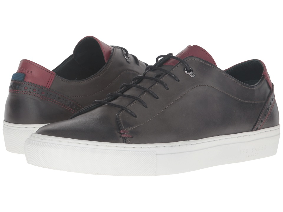 Ted Baker - Kiing (Grey Burnished Leather) Men's Shoes