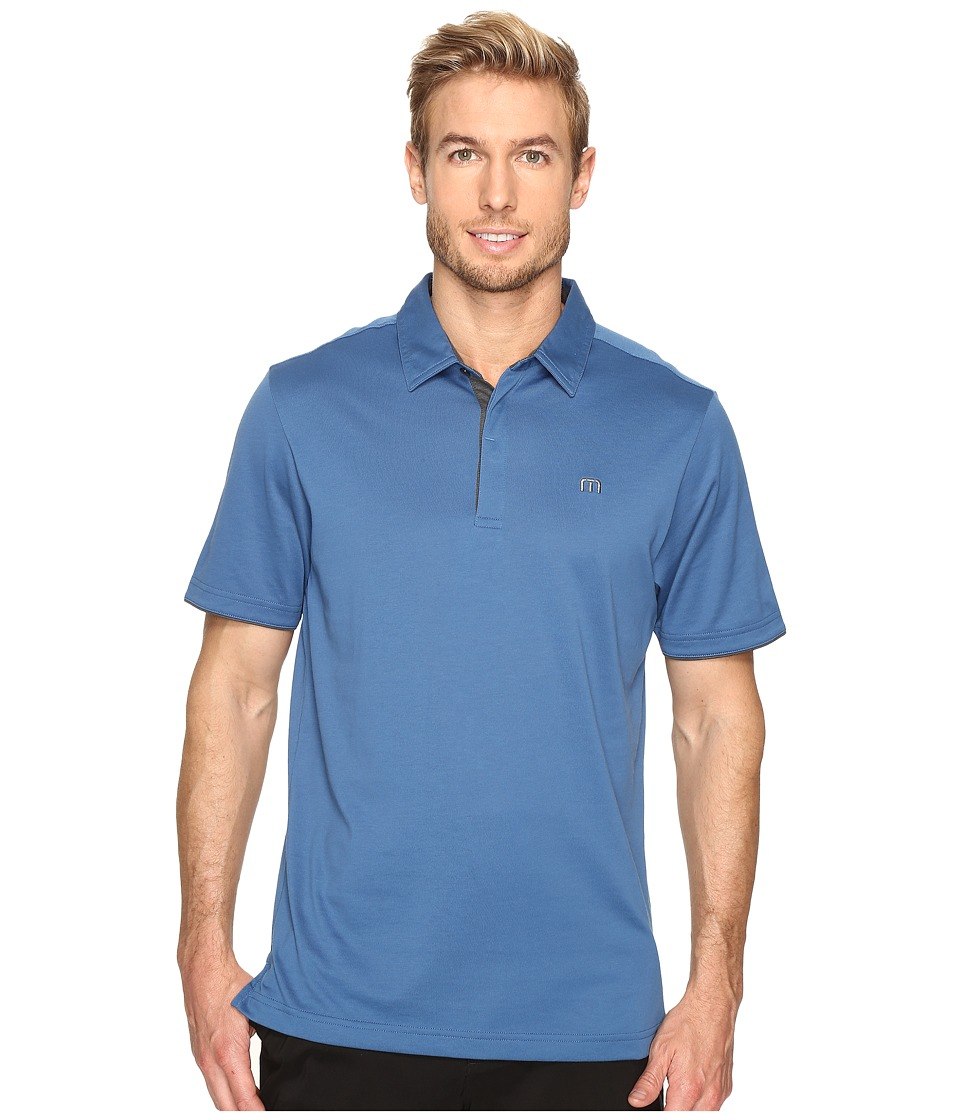 TravisMathew - LB Polo (Dark Blue) Men's Clothing