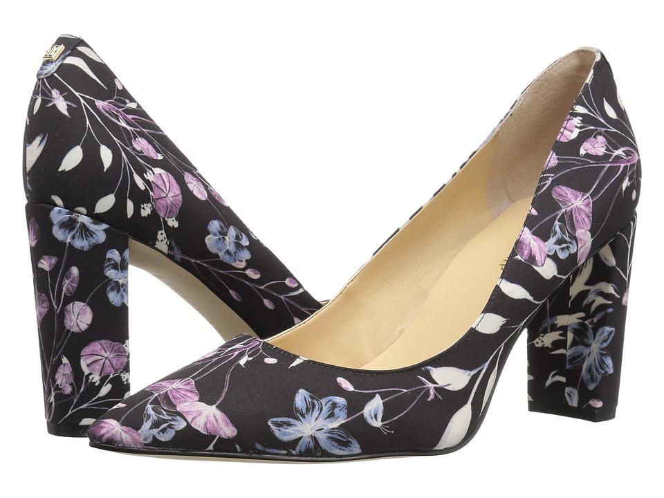 Ivanka Trump - Katie 2 (Black Multi Fabric) High Heels