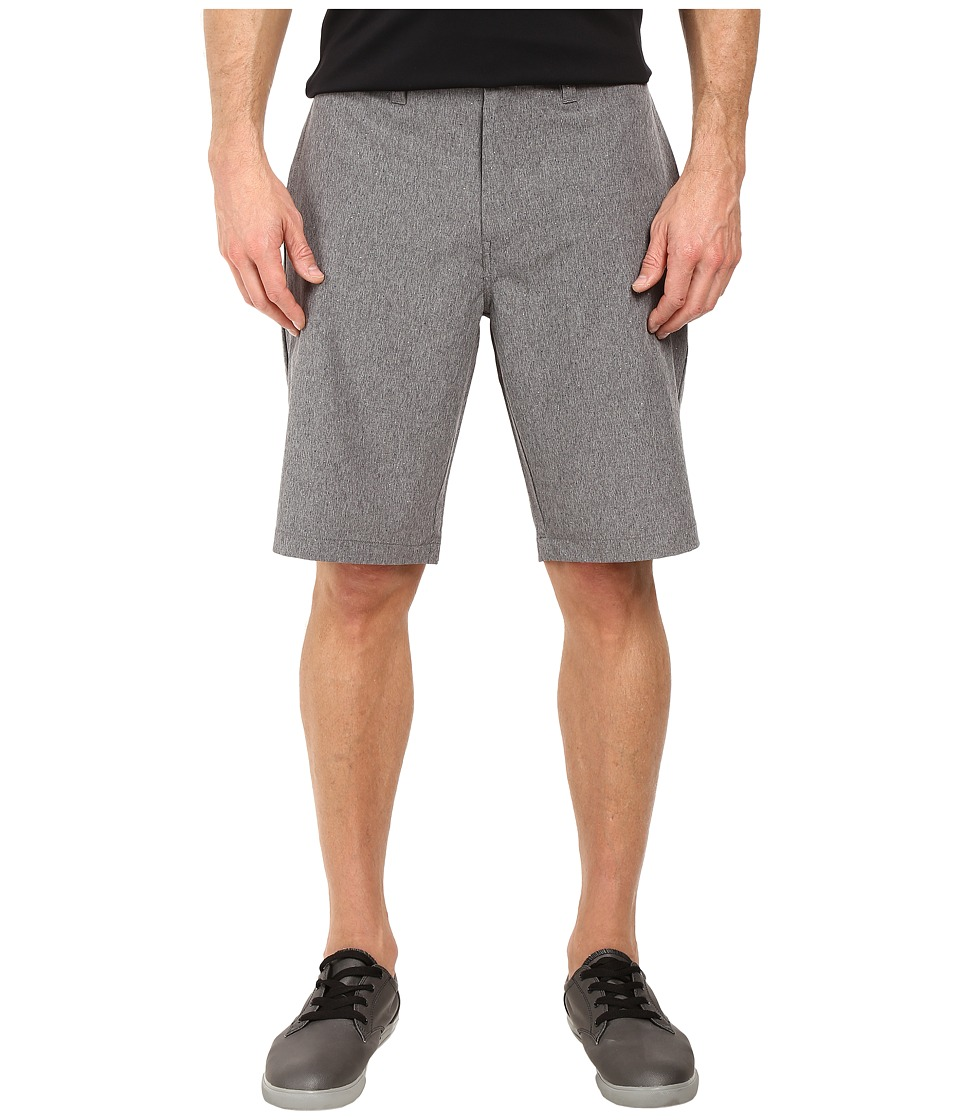 TravisMathew - P Dee EX Shorts (Heather Quiet Shade) Men's Shorts