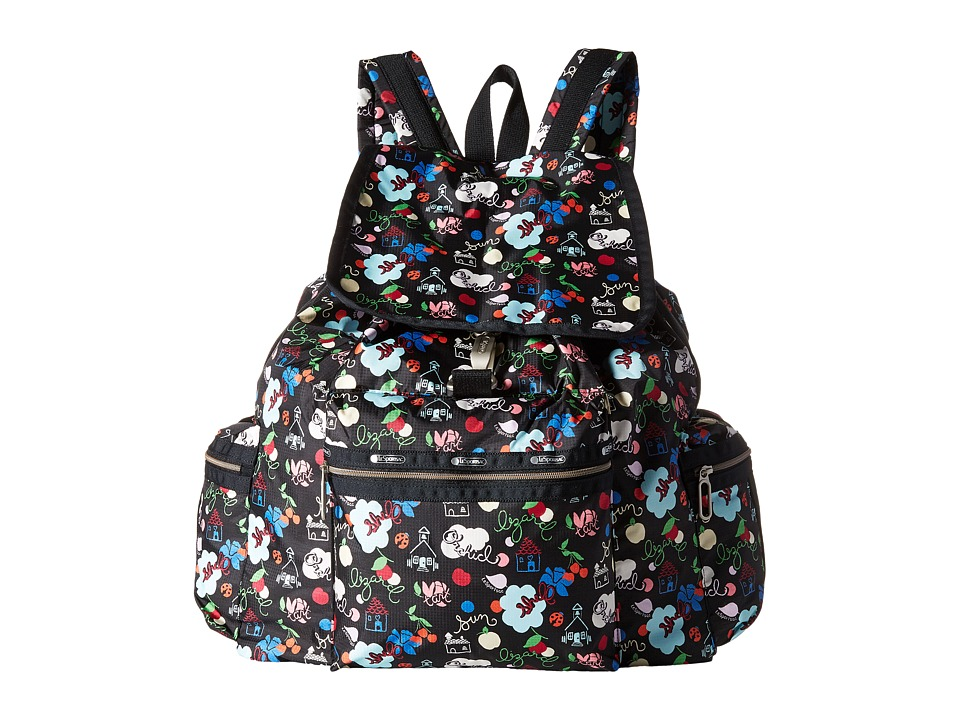 LeSportsac - 3-Zip Voyager (School's Out) Handbags