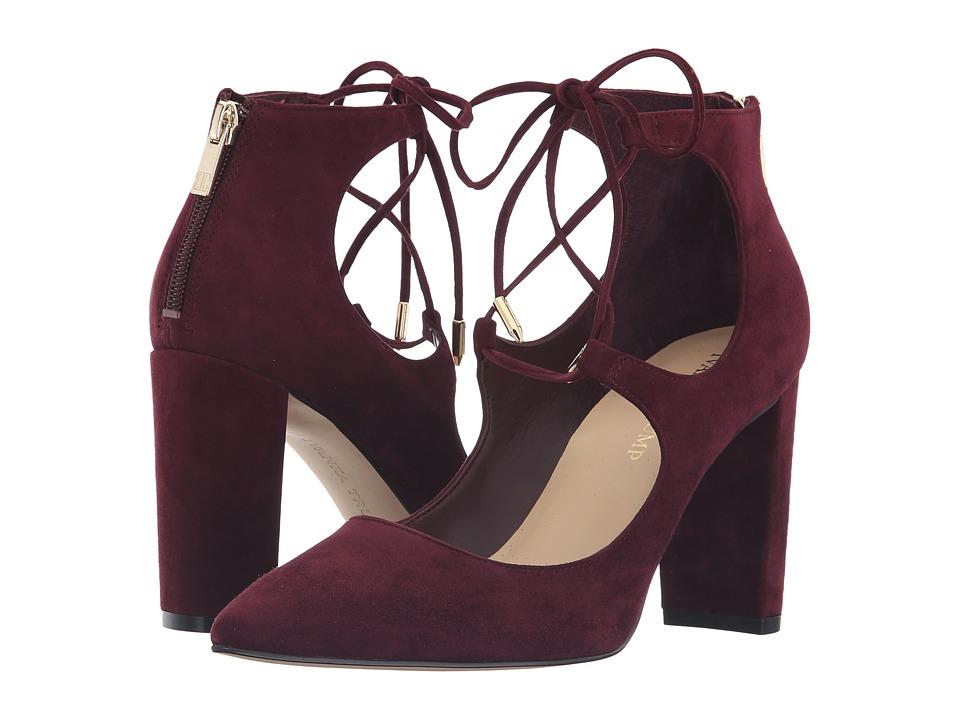 Ivanka Trump Kellsee (Dark Red Suede) High Heels