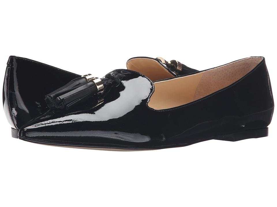 Ivanka Trump - Lama (Black Multi Patent) Women's Flat Shoes