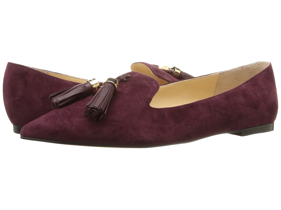 Ivanka Trump Lama (Dark Red Suede) Women