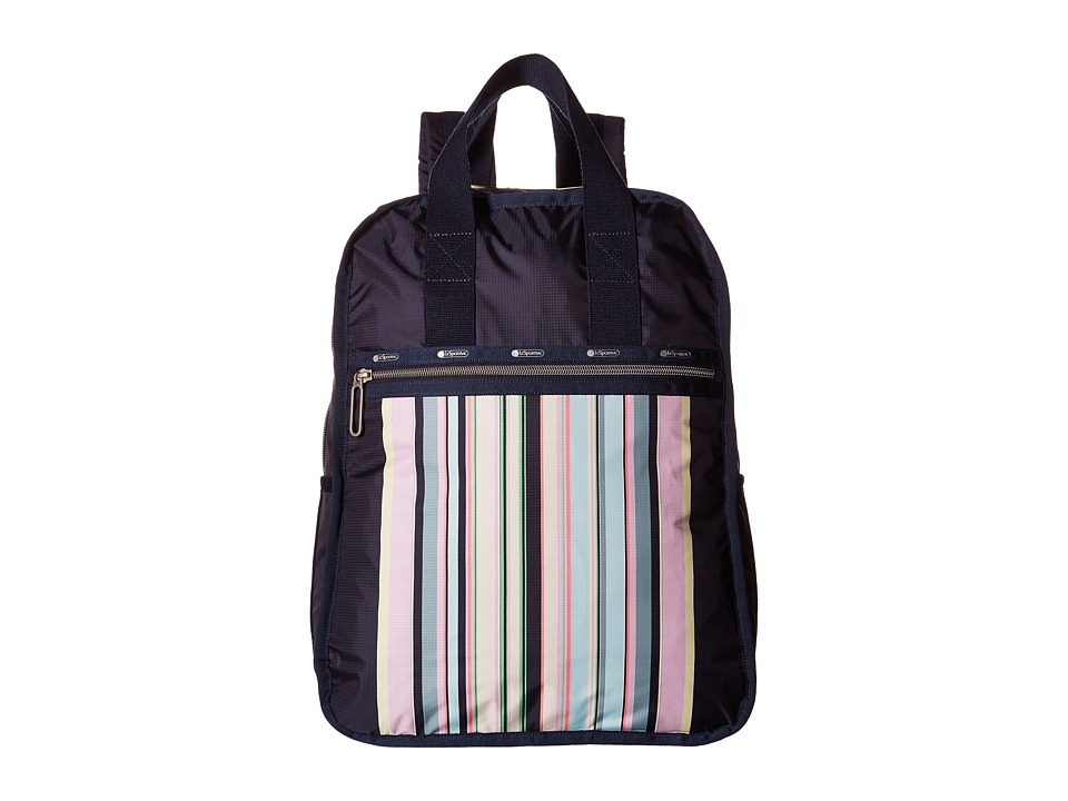 LeSportsac - Urban Backpack (Sunset Stripe) Backpack Bags