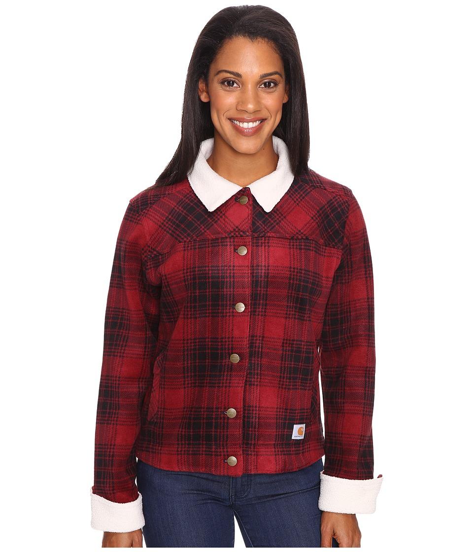 Carhartt - Cedar Jacket (Dark Red) Women's Coat