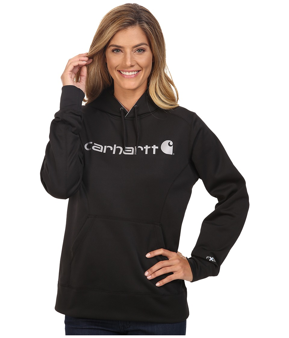 Carhartt - Force Extremes Signature Graphic Hooded Sweatshirt (Black) Women's Sweatshirt