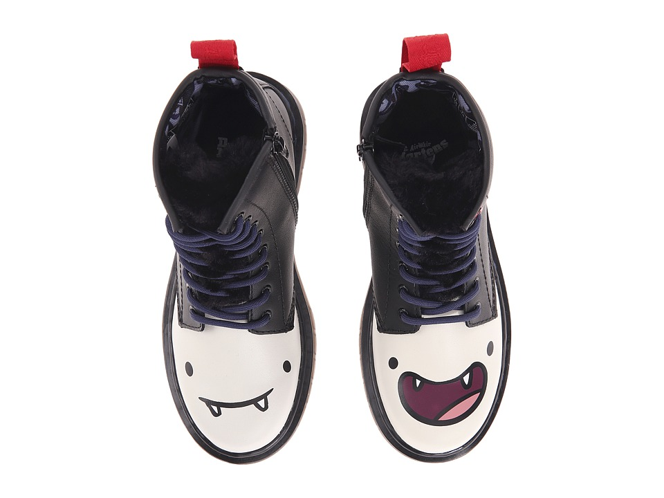 Dr. Martens Kid's Collection - Marceline D (Little Kid/Big Kid) (Off-White/Black) Girls Shoes