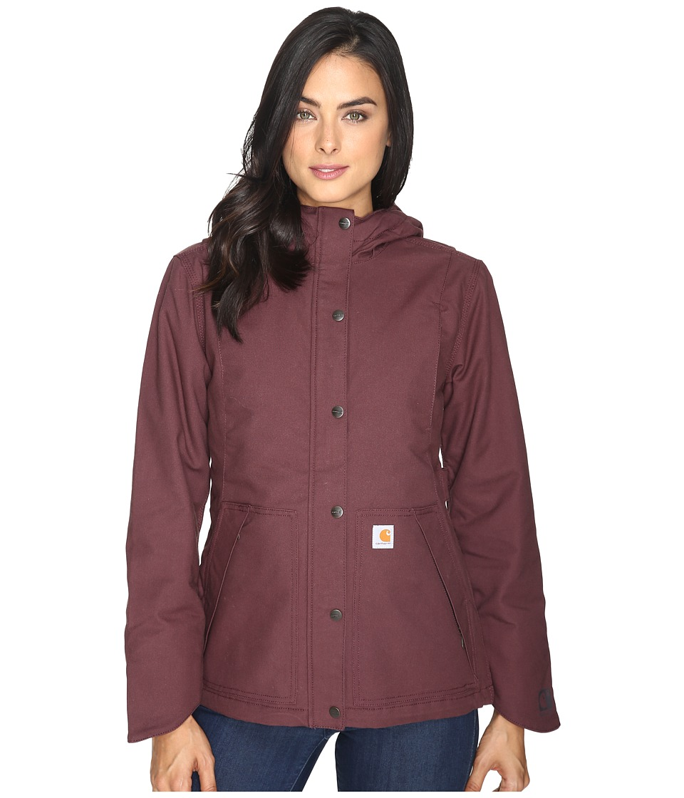 Carhartt - Full Swing Cryder Jacket (Deep Wine) Women's Coat