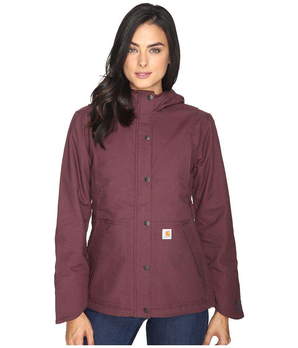 Carhartt - Full Swing Cryder Jacket (Deep Wine) Women's Coat