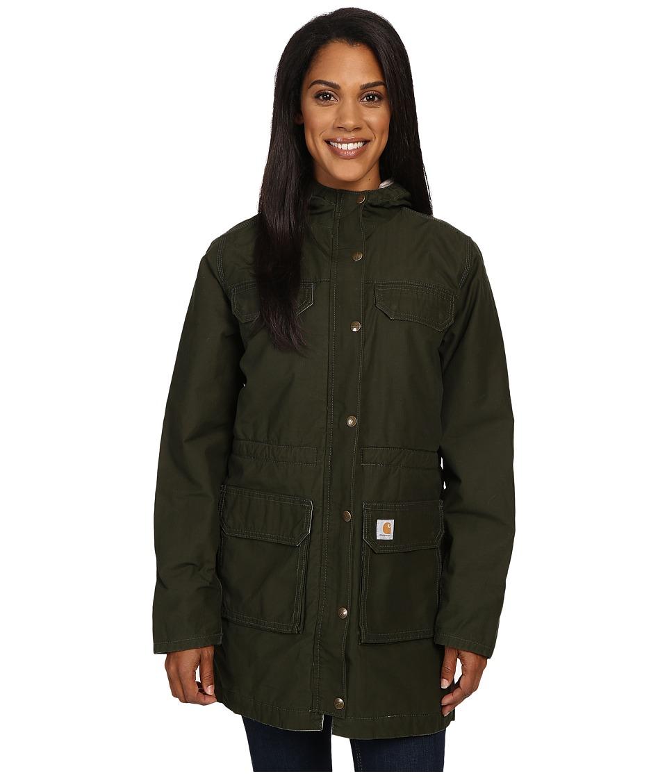 Carhartt - Fryeburg Coat (Olive) Women's Coat