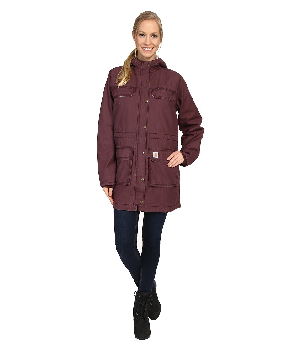 Carhartt - Fryeburg Coat (Deep Wine) Women's Coat
