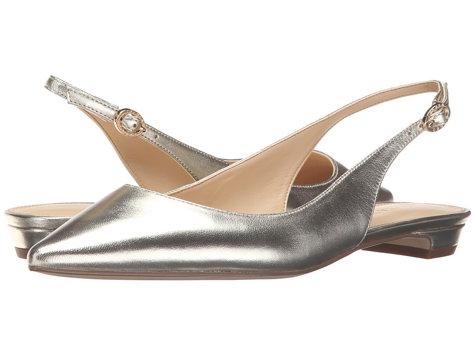 Ivanka Trump - Tamine (Gold Leather) Women's 1-2 inch heel Shoes