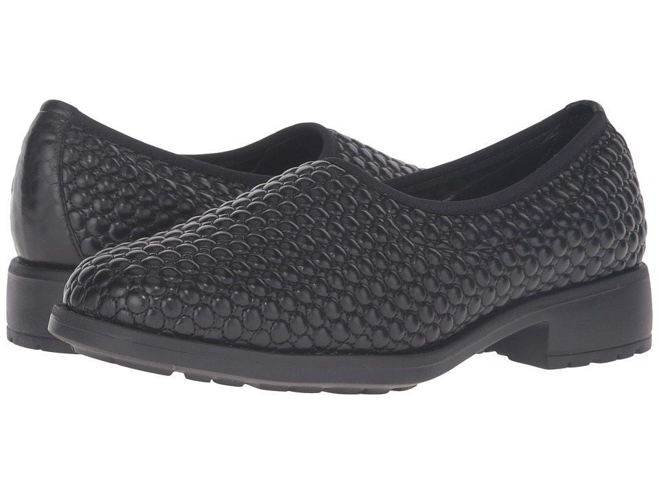 Sesto Meucci - Mesa (Black Super Faro) Women's Slip on Shoes