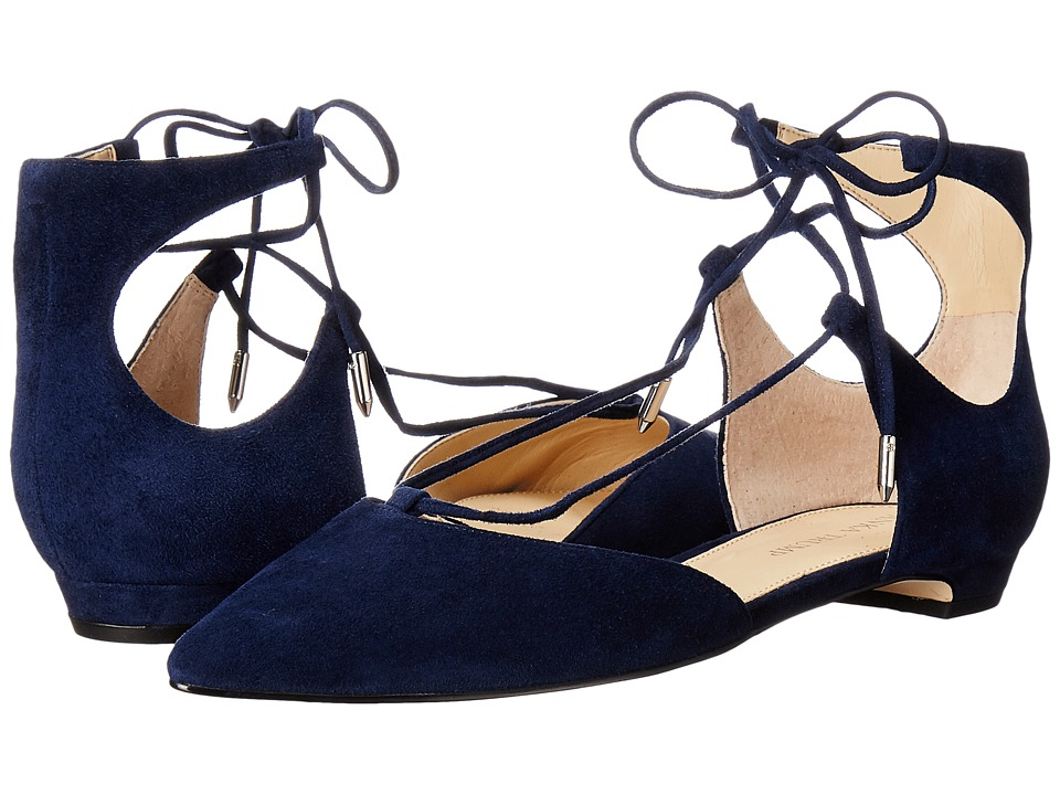 Ivanka Trump - Tavyn (Dark Blue Suede) Women's 1-2 inch heel Shoes