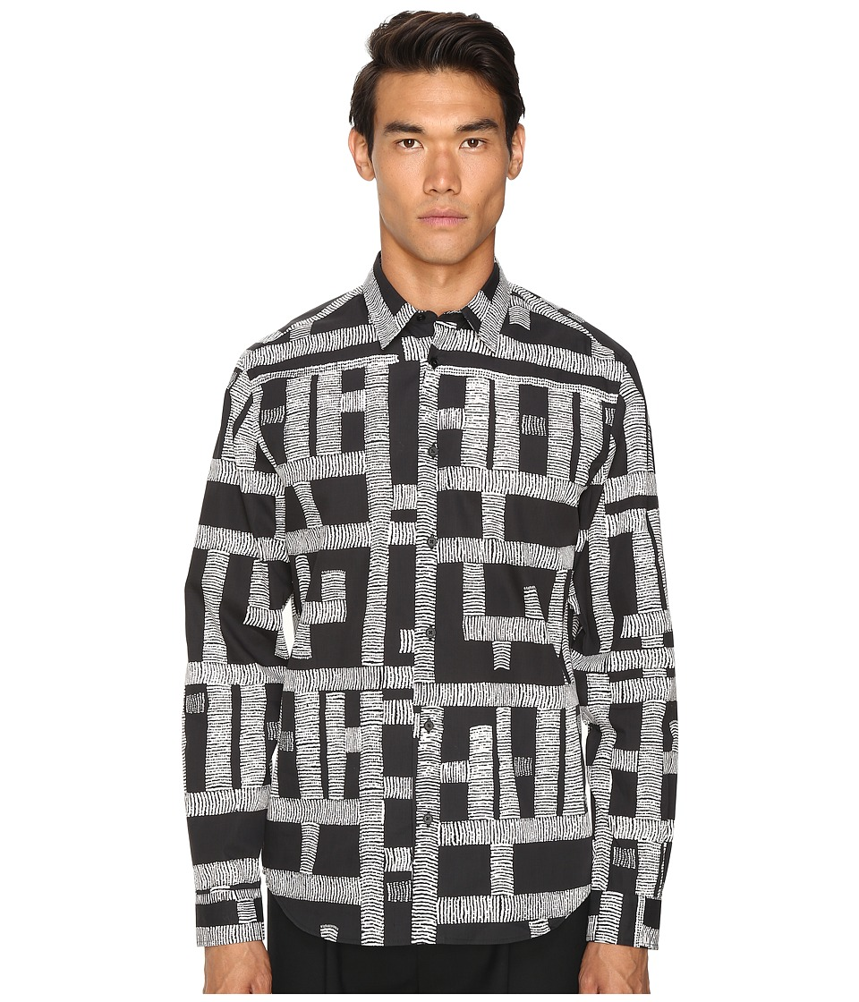 McQ - Shields (Dark Black Thread) Men's Clothing