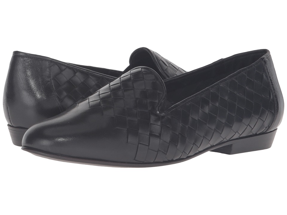 Sesto Meucci - Noula (Black Stained Calf) Women's Slip on Shoes