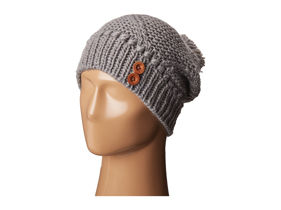 Spacecraft - Juniper Pom (Gray) Beanies