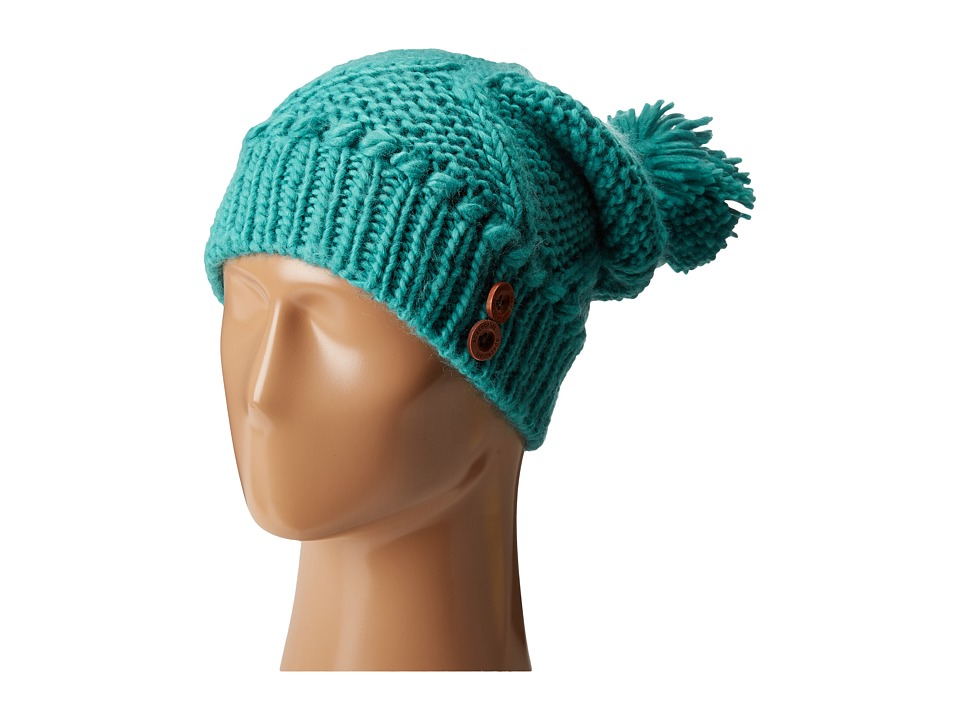 Spacecraft - Juniper Pom (Turquoise) Beanies