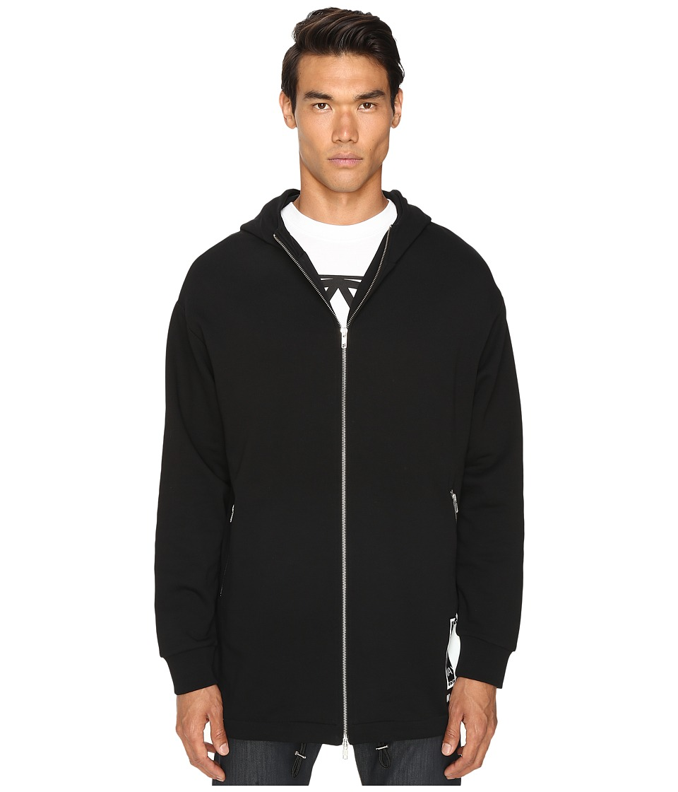 McQ - Sweat Parka (Darkest Black) Men's Coat