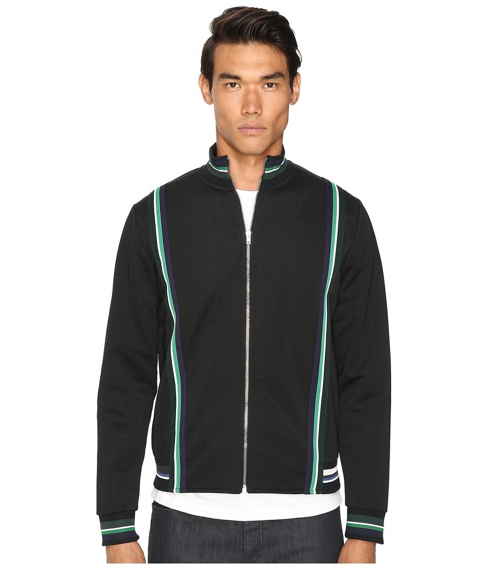 McQ - Track Top Sweatshirt (Darkest Black) Men's Sweatshirt