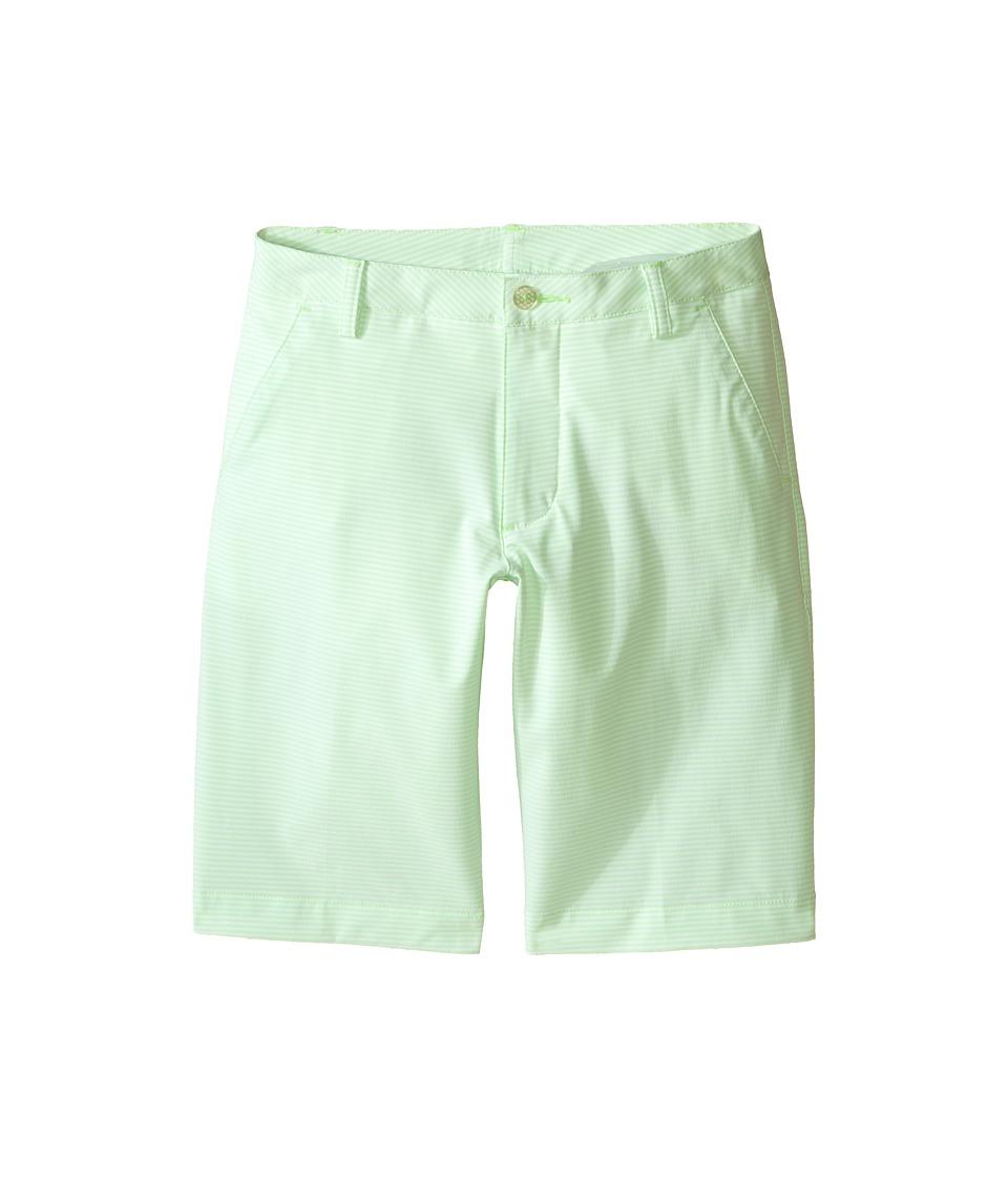 PUMA Golf Kids - Stripe It Shorts (Big Kids) (Green Gecko) Boy's Shorts