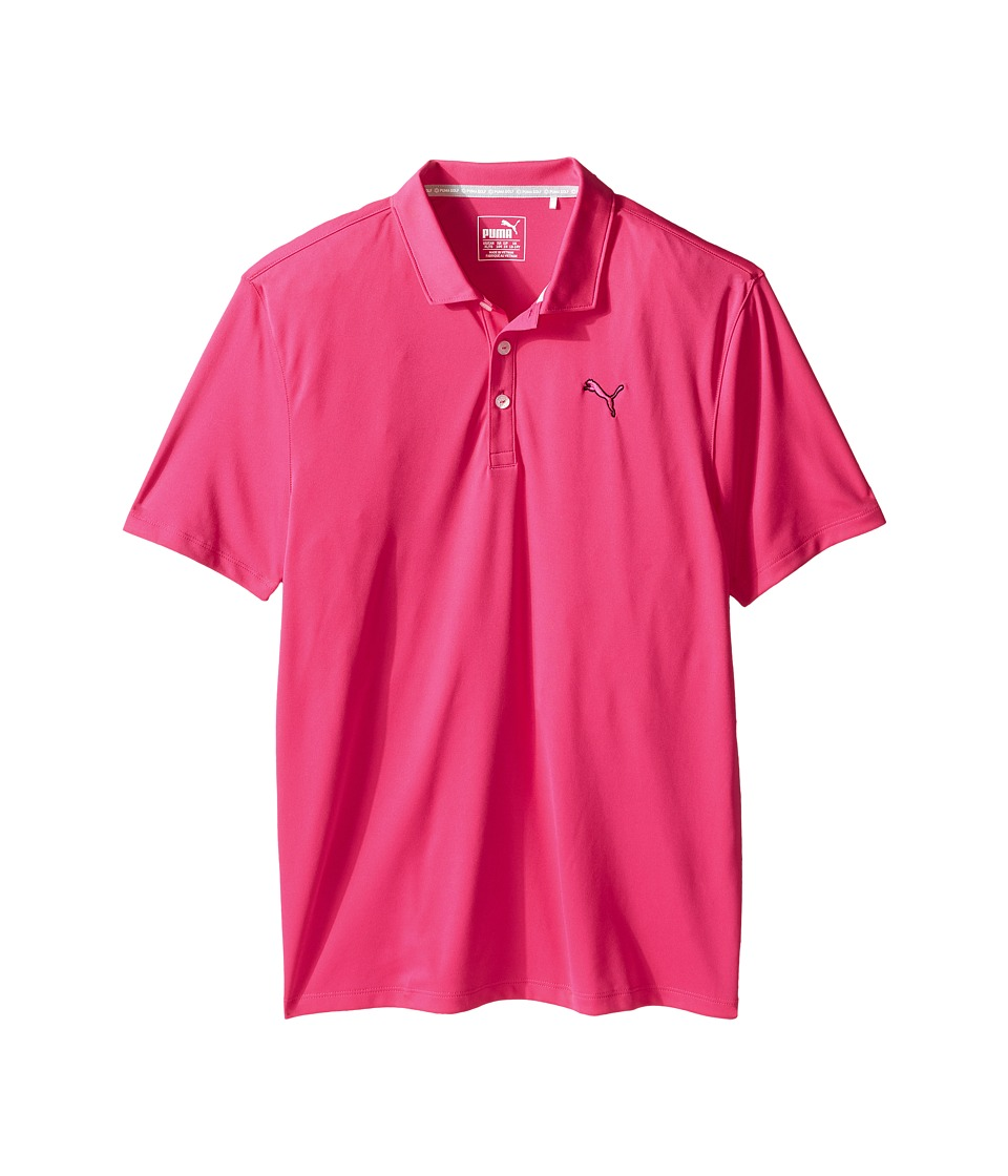 PUMA Golf Kids - Essential Pounce Polo JR (Big Kids) (Beetroot Purple) Boy's Clothing