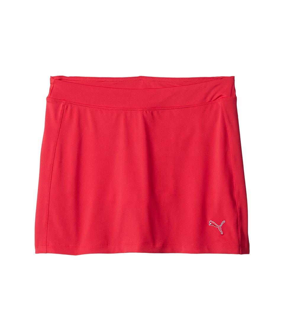 PUMA Golf Kids - Solid Knit Skirt (Big Kids) (Rose Red) Girl's Skort