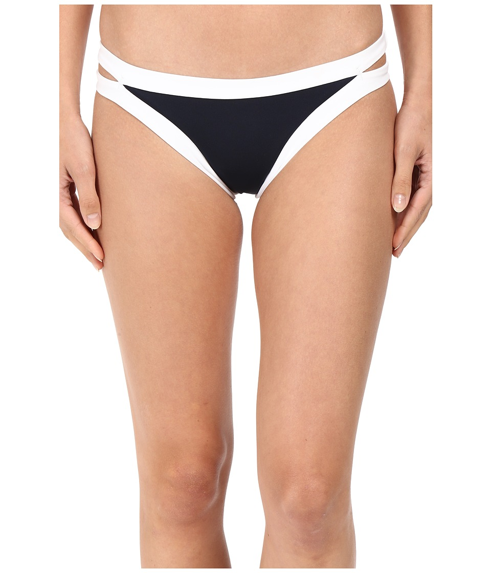 Seafolly - Block Party Brazillian Pant (Indigo) Women's Swimwear