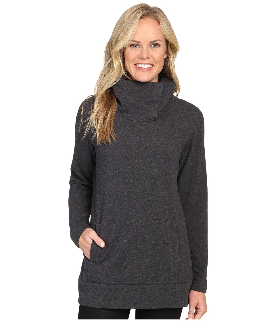 Lucy - Journey Within Pullover (Asphalt Heather) Women's Long Sleeve Pullover