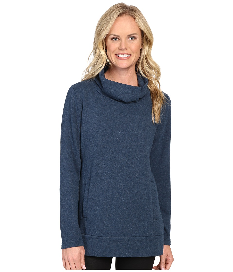 Lucy - Journey Within Pullover (Poseidon Heather) Women's Long Sleeve Pullover