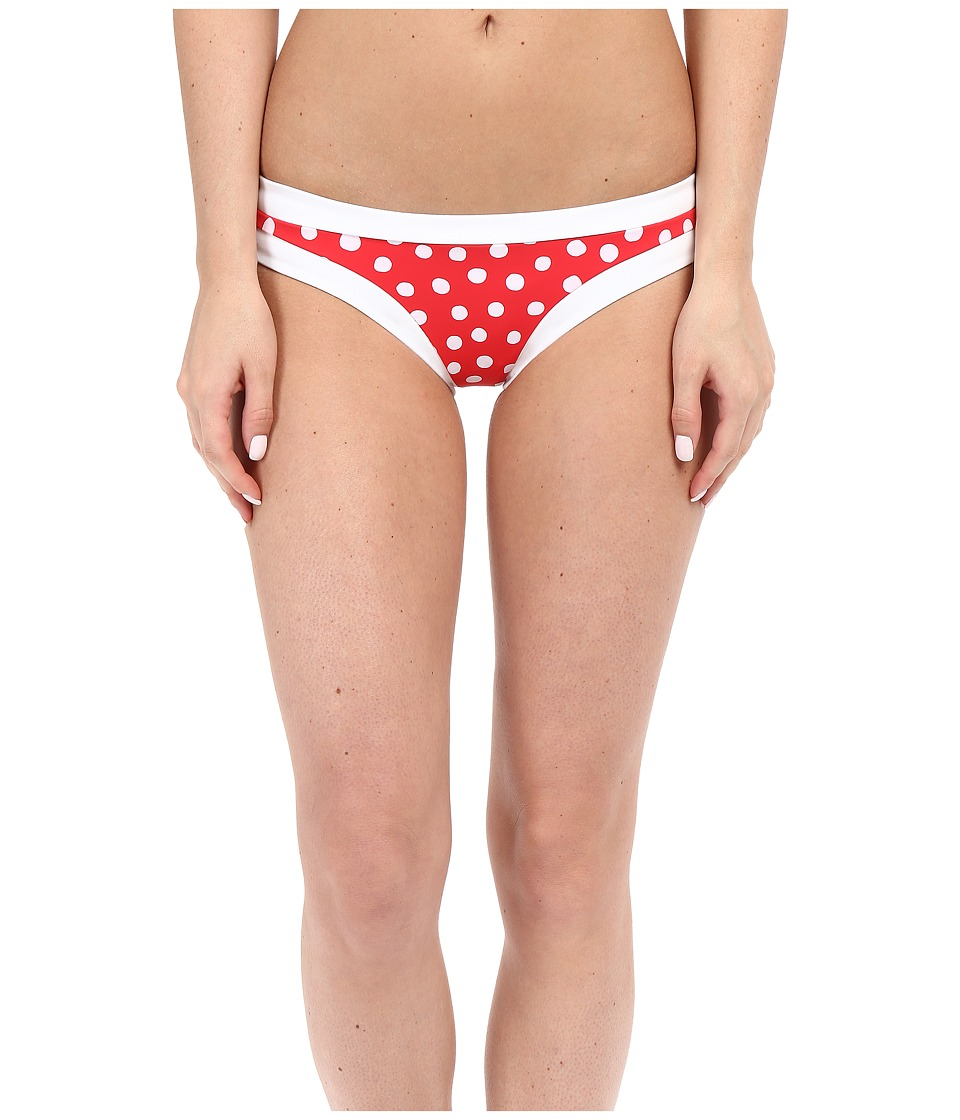 Seafolly Spot On Hipster Bottom Chilli Red Swimwear