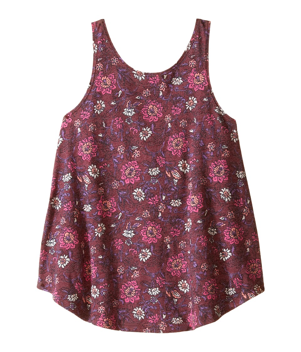 Billabong Kids - River Bend Tank Top (Little Kids/Big Kids) (Shiraz) Girl's Sleeveless