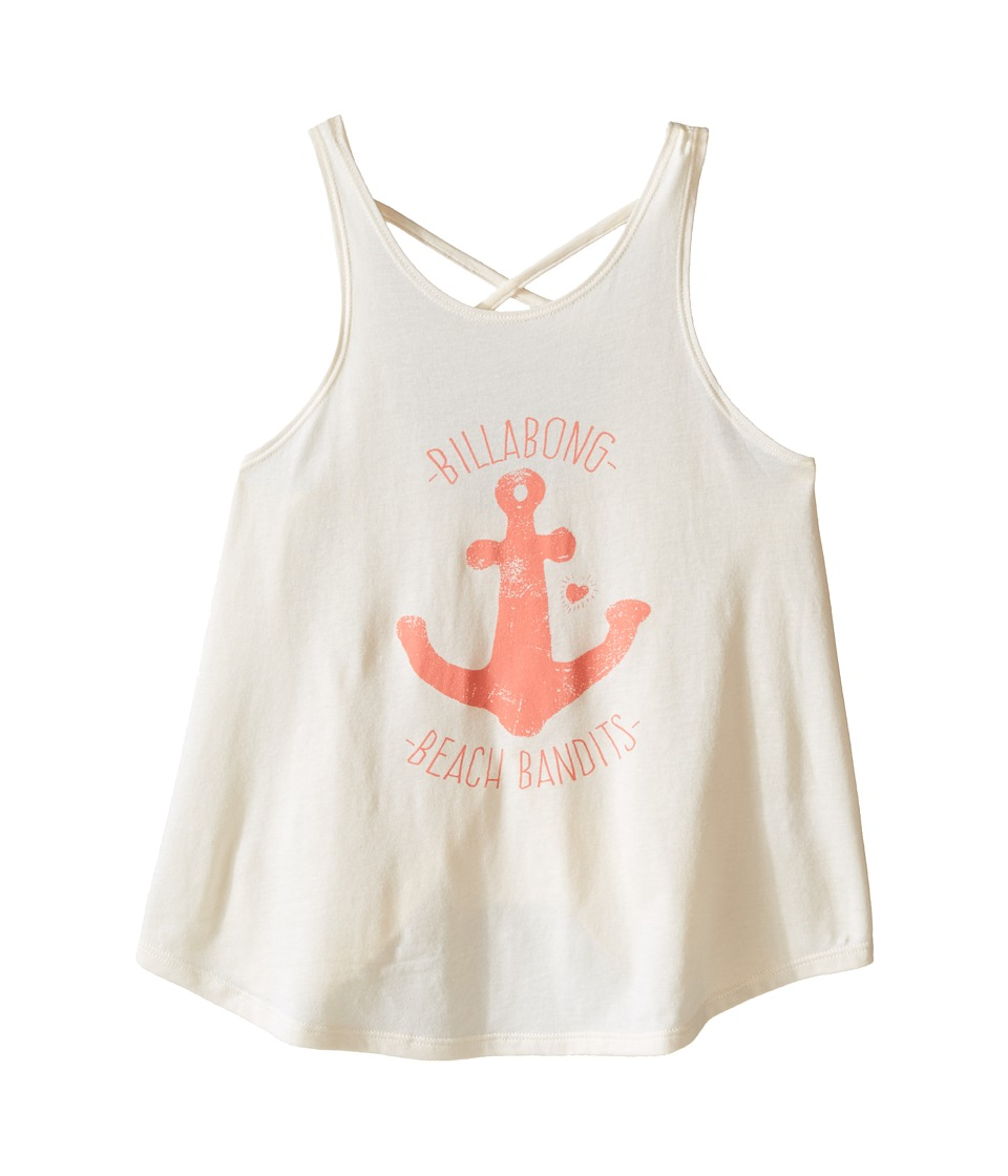 Billabong Kids - River Bend Tank Top (Little Kids/Big Kids) (White Cap) Girl's Sleeveless