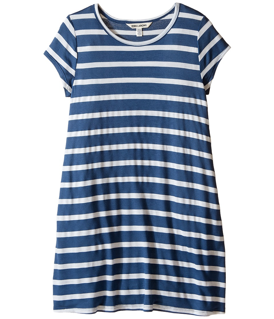 Billabong Kids - Last Time Dress (Little Kids/Big Kids) (Navy) Girl's Dress