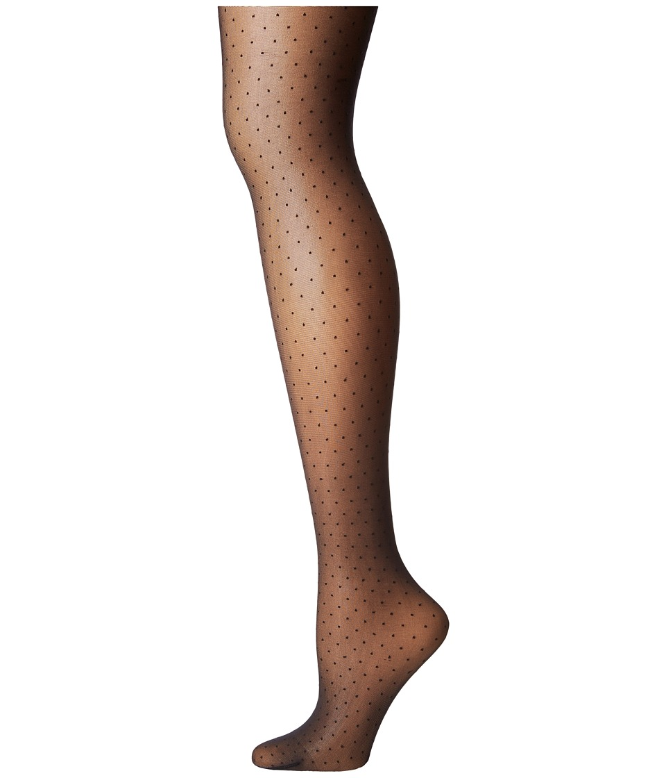 Wolford - Nola Tights (Black/Black) Hose