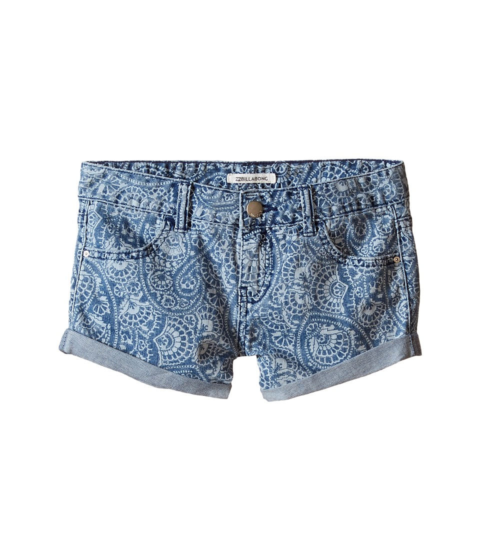 Billabong Kids - Coolside Shorts (Little Kids/Big Kids) (Coastal Blue) Girl's Shorts