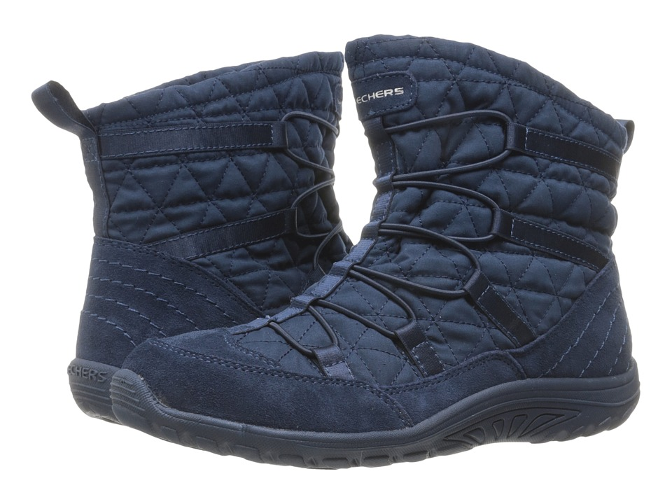 SKECHERS - Reggae Fest Steady (Navy) Women's Boots