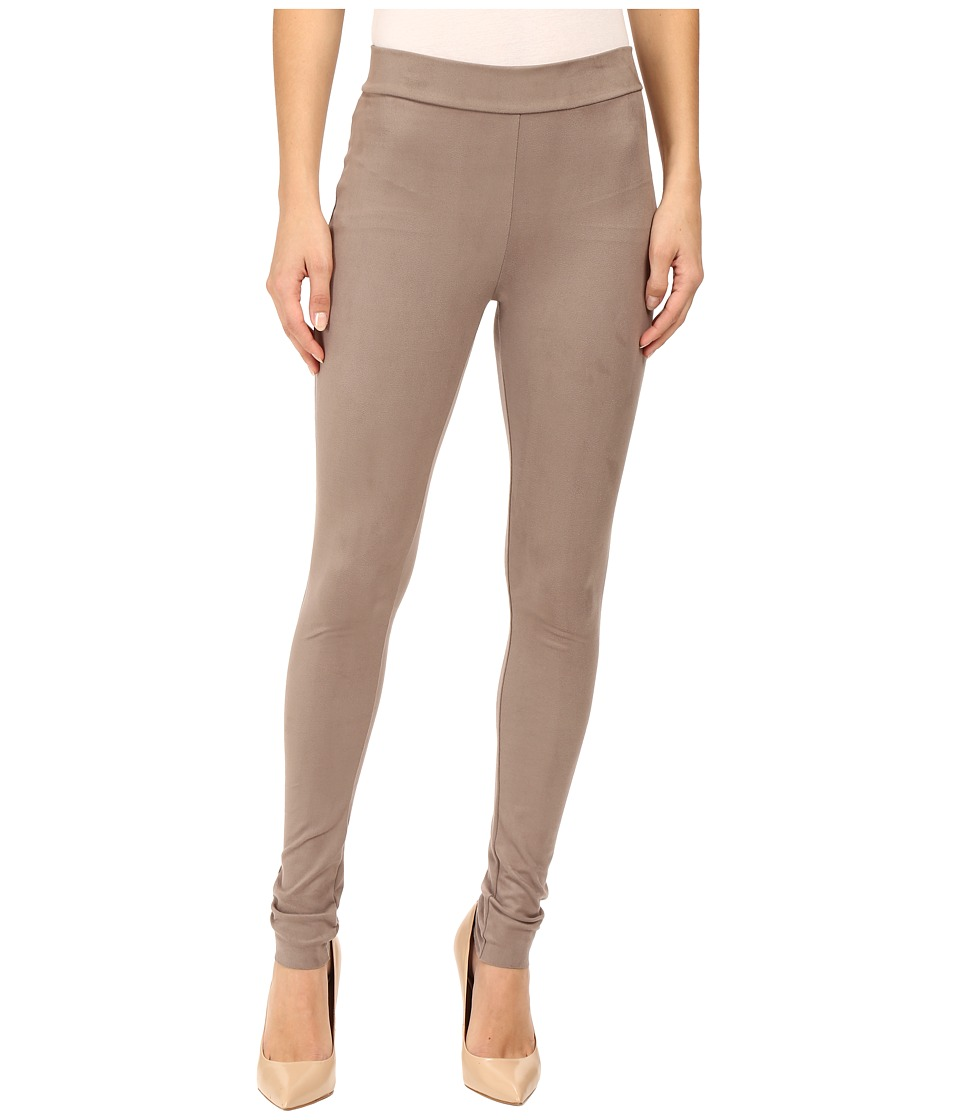 Wolford - Velour Leggings (Taupe/Grey) Women's Workout