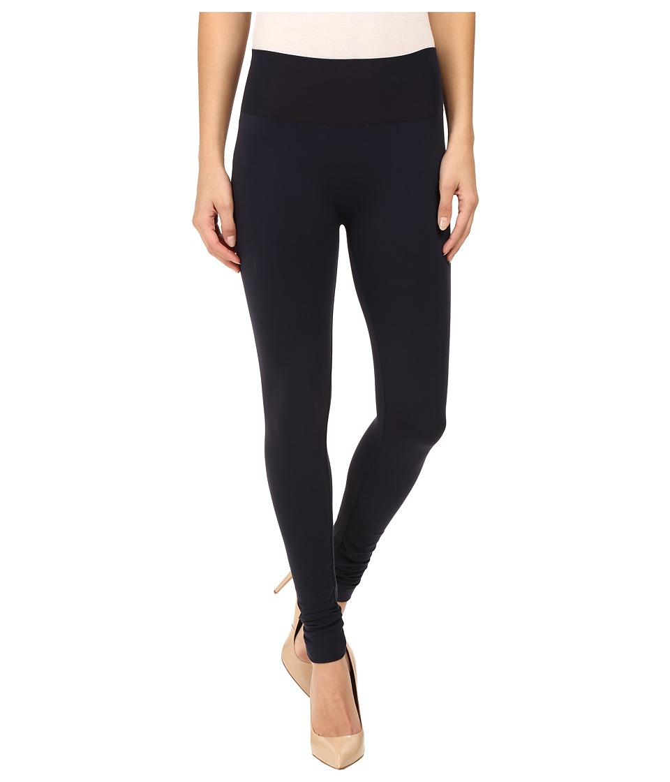 Wolford - Perfect Fit Leggings (Midnight) Women's Workout
