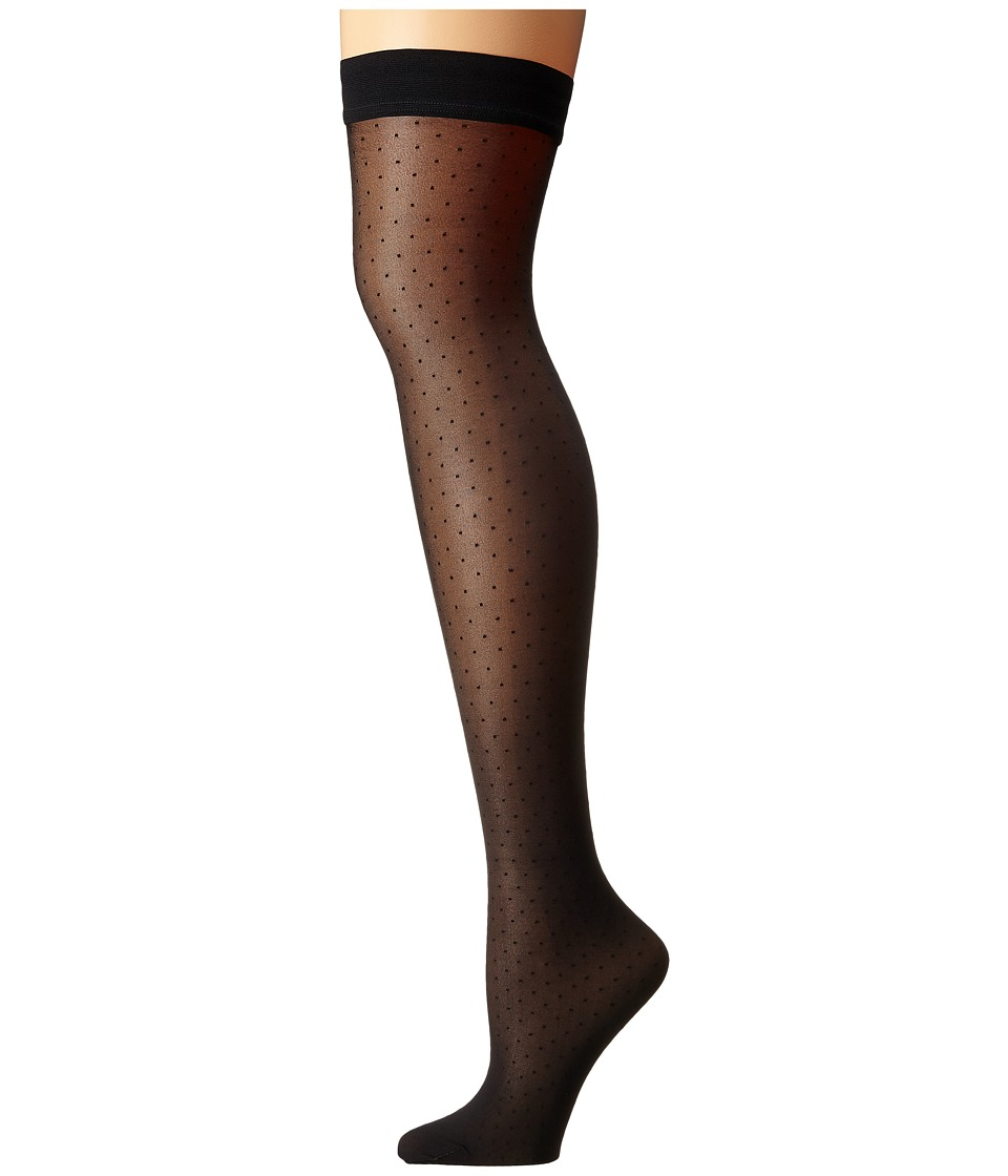 Wolford - Nola Stay-Up (Black/Black) Hose
