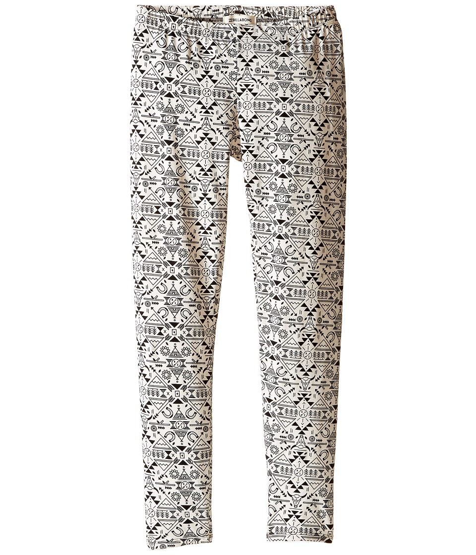 Billabong Kids - Diggin It Leggings (Little Kids/Big Kids) (Cool Wip) Girl's Casual Pants