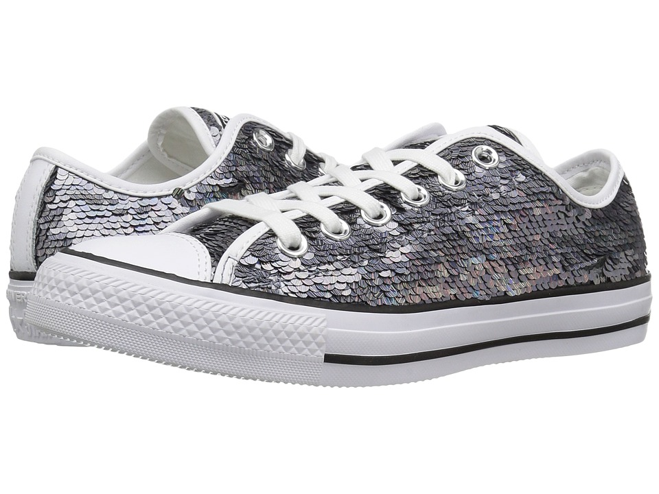 Converse - Chuck Taylor All Star Holiday Party Ox (Gunmetal/White/Black) Women's Shoes