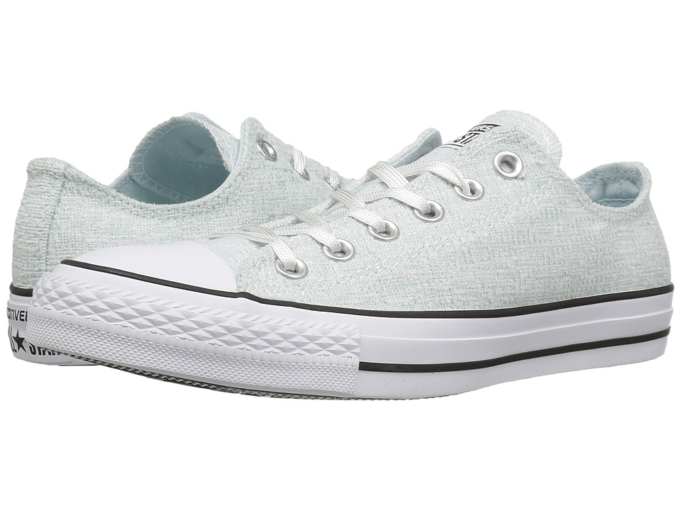 Converse - Chuck Taylor All Star Sparkle Knit Ox (Polar Blue/Black/White) Women's Shoes