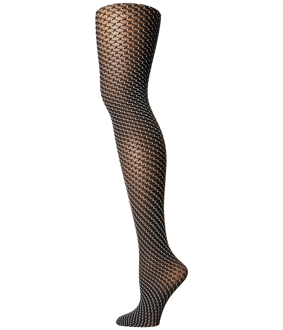 Wolford - Cilou Tights (Black/White) Hose