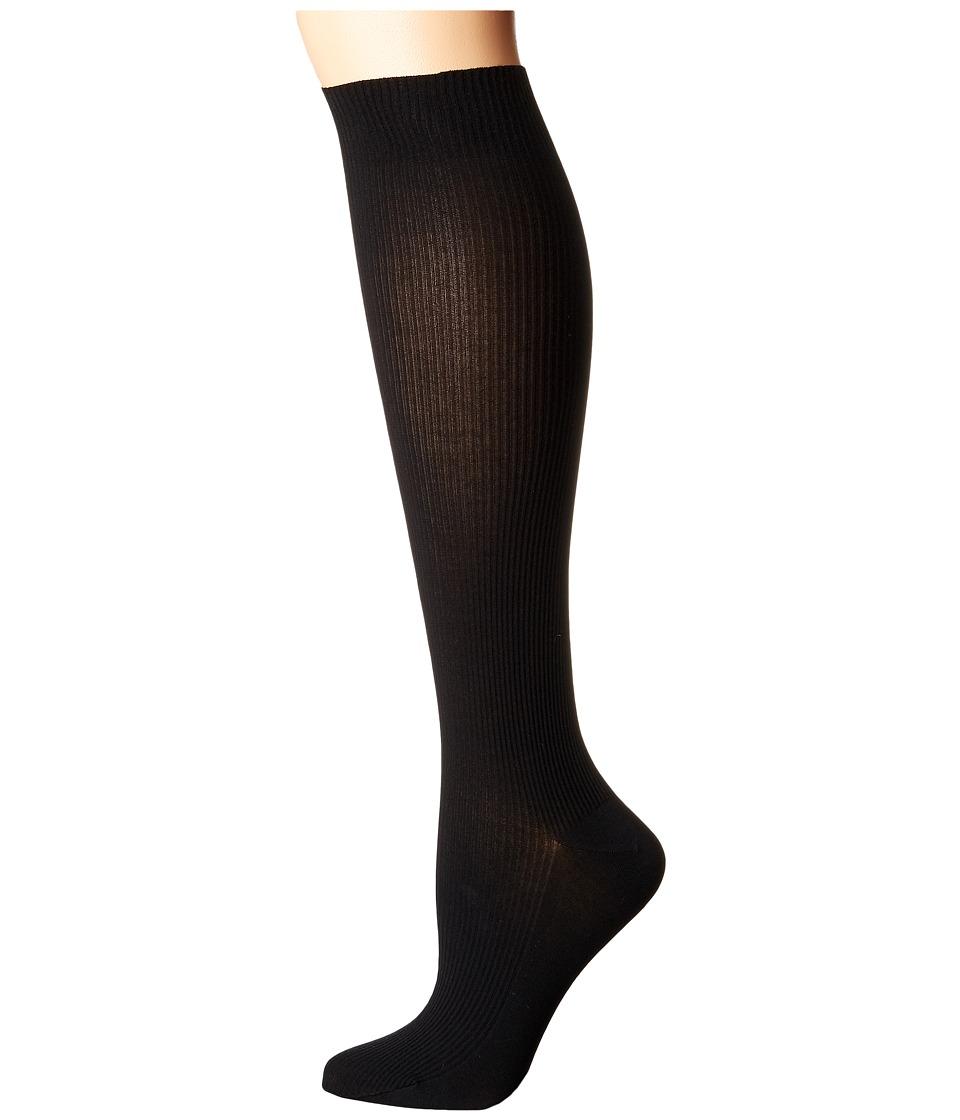 Wolford - Louise Knee Highs (Black) Knee high Hose