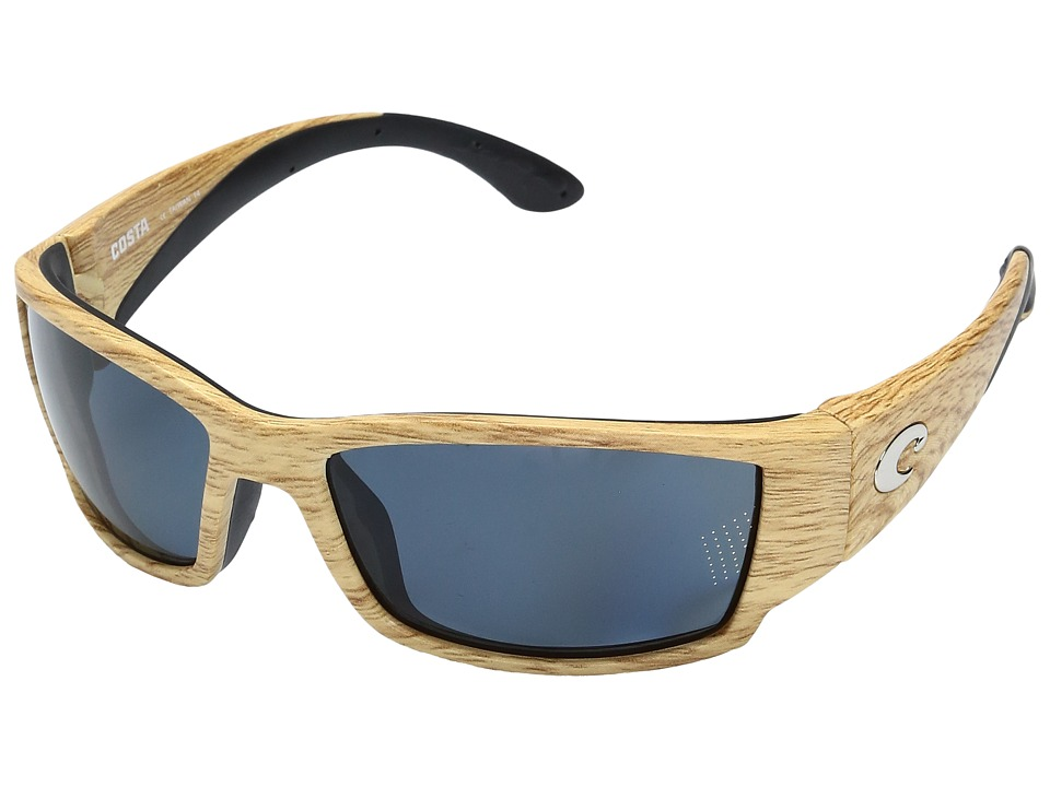Costa - Corbina (Ashwood Frame/Gray 580P) Fashion Sunglasses