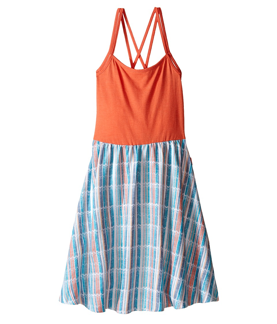 Roxy Kids - Maui Beach Dress (Big Kids) (Living Coral) Girl's Dress
